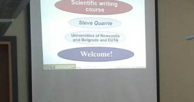 Scientific writing course