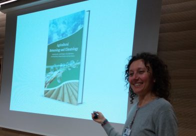 """Book promotion in Zagreb, Croatia at """"Meteorological challenges"""""""